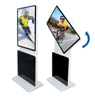 42 inch floor standing LCD Advertising Video Display Digital Signage with touch screen