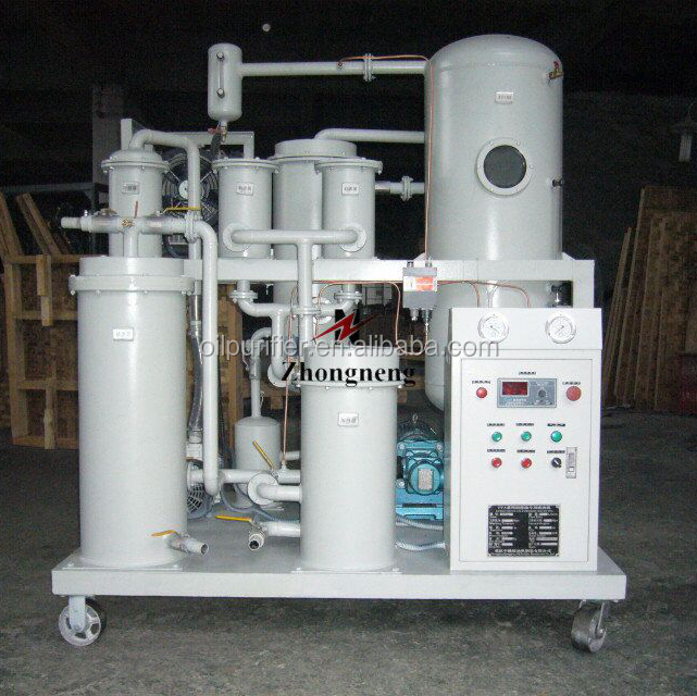 oil purifier for phosphate ester / fire resistant fluid oil filtration