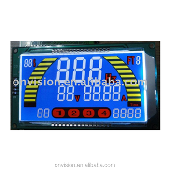 China factory OEM custom made STN color segment LCD display