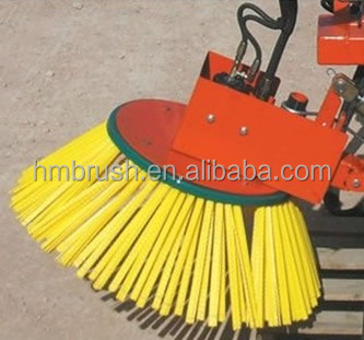 yellow wafer cleaning road /snow brush
