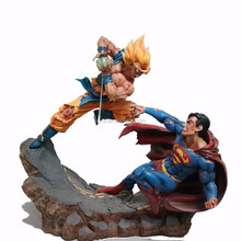 dragon ball z toys with superman/dragon ball z action figures/dragon ball z figures