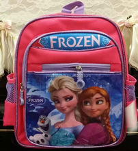 new design school bag frozen school bag for kids wholesale cartoon character school bags