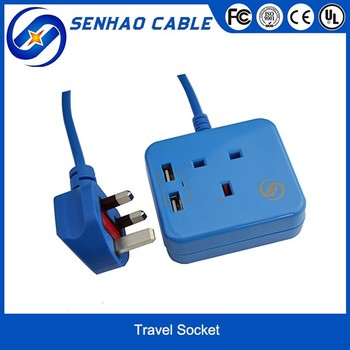 2016 Exclusive Design Mini Travel Wall Socket With USB