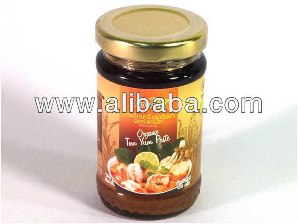 Organic Tom Yum Curry paste