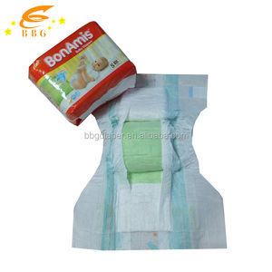 Babies age group a grade super dry kids diaper export worldwide countries baby diaper in bales stocklots
