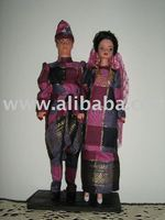 Malay Wedding Couples doll