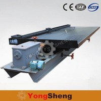 6s shaking table mining separation machine in china