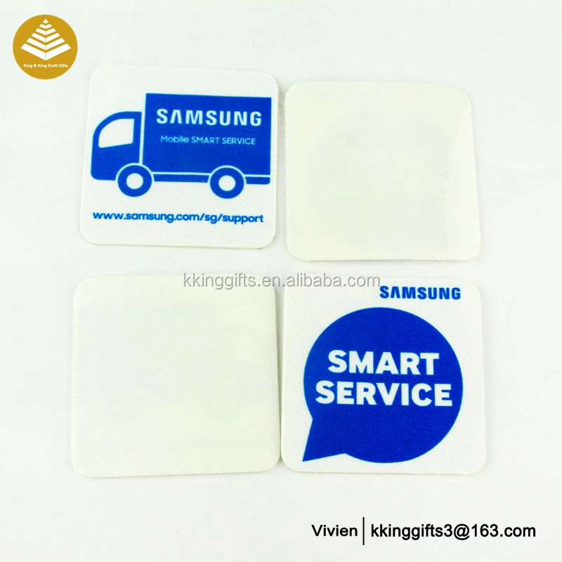 Microfiber Mini Sticky anti radiation sticker for mobile phone / non slip mobile phone sticker
