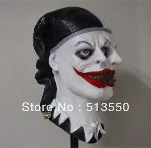 Eco-friendly Deluxe Quality Latex Accoutrements Horror Double Heads Zombie Mask for 2013 party