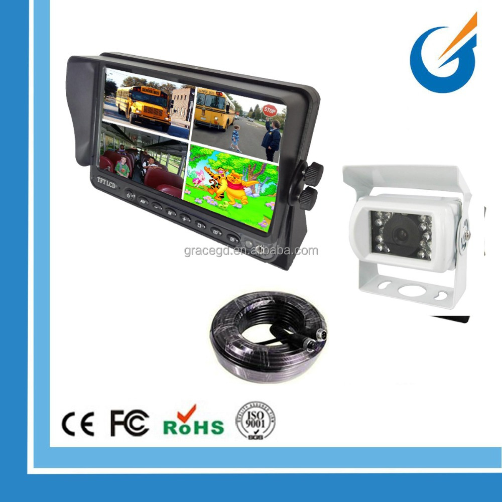 Truck Camera system for trucks and buses with super good night vision and waterproof
