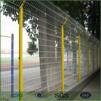 high quality pvc coated 1x1 wire mesh fencing(ture factory)
