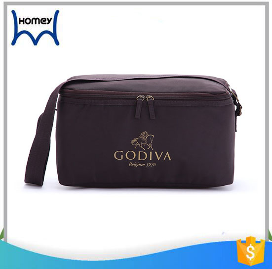 High quality canvas fitness insulated lunch cooler bag for kids