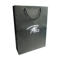 High quality branded cusomtized printing logo paper bag thin eco friendly