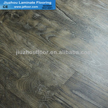white&green HDF laminate flooring 12mm