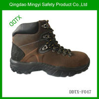 CHINA DDTX Camel Color safety boots with steel toe