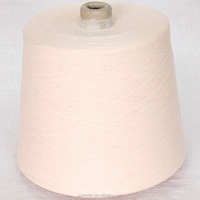 Antimicrobial polyester spun yarn for knitting underwear