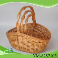 2015 new wicker basket made in china