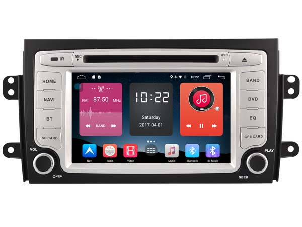 otojeta 4G lite Android 6.0 car DVD player fit for Suzuki SX4 2006-2012 radio headunits stereo gps navi multimedia tape recorder