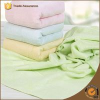 home textile 100% cotton yarn dyed baby face towel