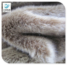 high quality faux fur fox long plush faux fox fur fabrics