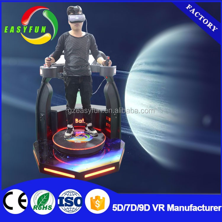 Big factory 9d Vr Battle Shooting Game Machine , Virtua Reality 9d Vr, horror movie for 9d cinema