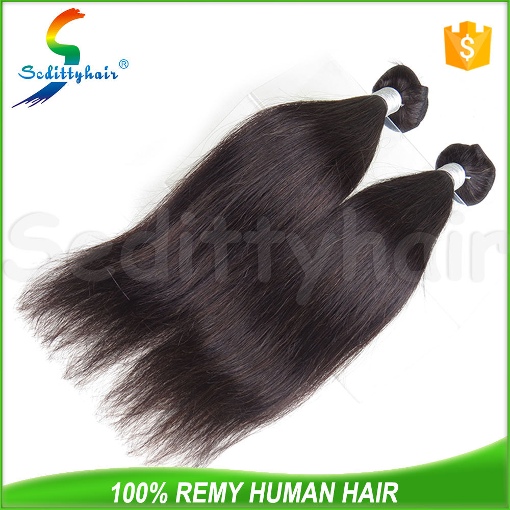 Natural remy hair extension, hair extensions raw unprocessed virgin hair for black sex woman
