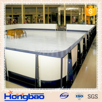 mobile ice rink for family and amusement park,ice skating rinks,ice rink equipment