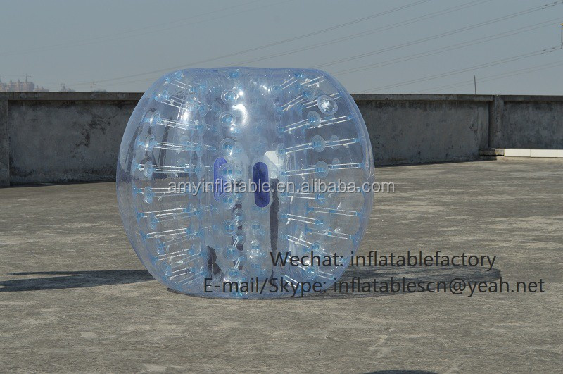 PK313009 cheap price bubble zorbs ball for soccer game adult inflatable bumper ball