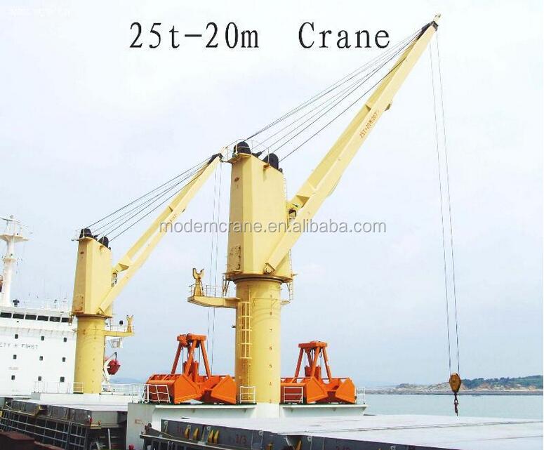 Yacht Hydraulic Crane : Hydraulic deck crane boat jib marine buy