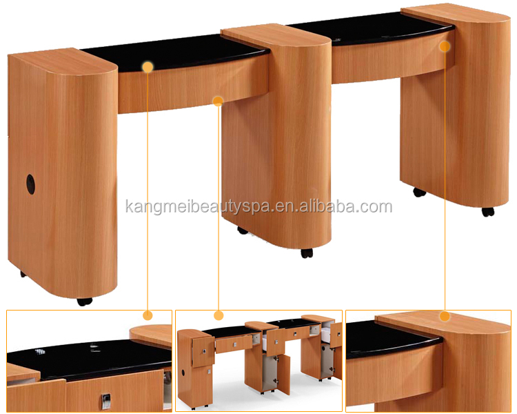 Nail salon equipment for sale modern nail table used for Used salon stations for sale