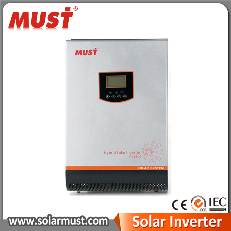 Economical hybrid solar power inverter for home solar system 3kva 2400w MPPT 60A