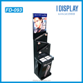 custom design cardboard cosmetic display stand for retail