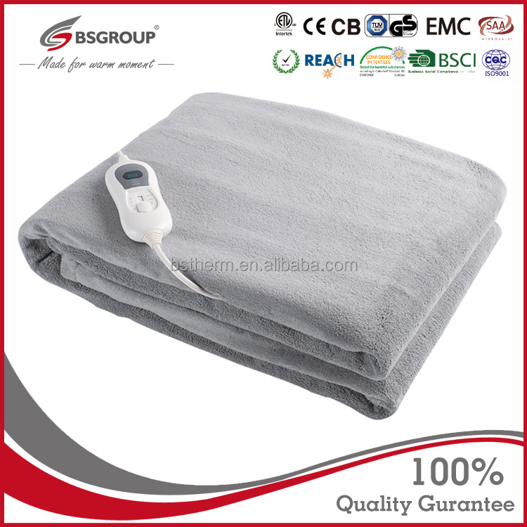 Bellavie cheap electric heated throw fast <strong>heating</strong> and washable