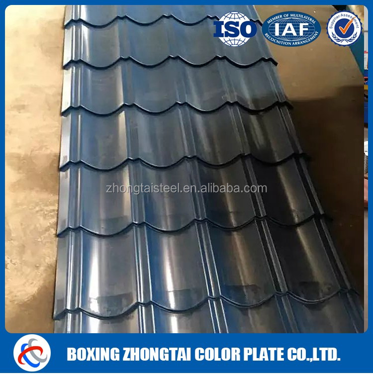 2016 new product rib-type corrugated color roof