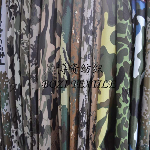 Outdoor camouflage Oxford cloth Waterproof poncho sunshade tent cloth