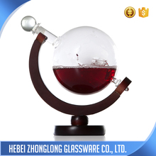 China Manufacturer Hot Sale Mouth Blown Whisky Glass Bottle 750Ml