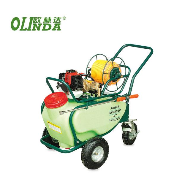 China agriculture garden spray machine power wheelbarrow sprayer with wheels