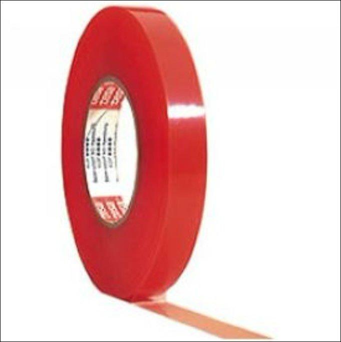 3 m de doble cara cinta de tela adhesiva tesa pel cula for Cinta adhesiva doble cara tesa