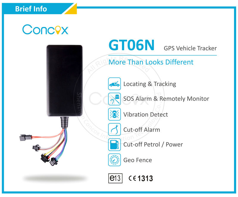 100% Original!! China Concox gps car tracker GT06N