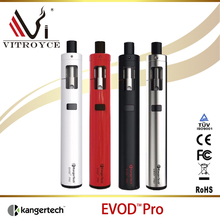New arrival! 100% Authentic e-cigarette 510 4ml Kanger Evod Pro kit single 18650 with fast delivery