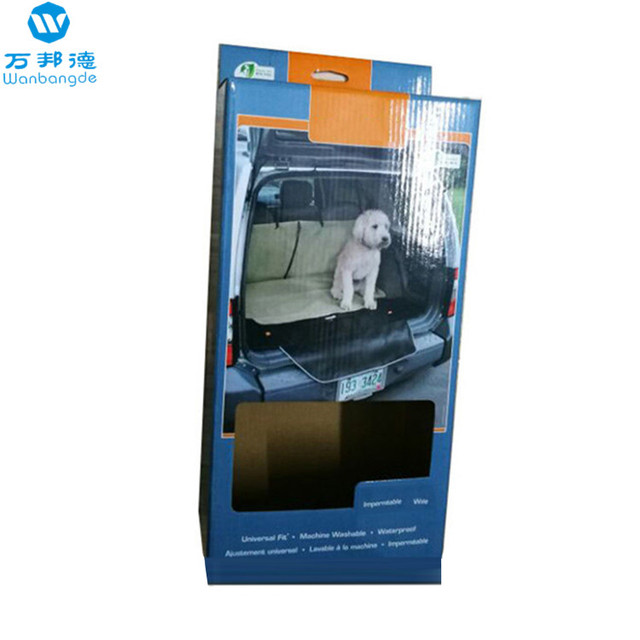 China Custom Tools Packaging Box Corrugated With Window