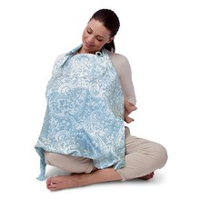 China factory custom made high quality long style breast feeding nursing cover