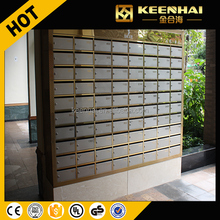 Letter Box Stainless Steel Free Standing Mailboxes Commercial Mailbox