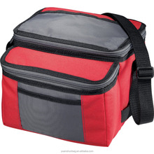 Outdoor Sport 9-Can Collapsible Cooler, Red