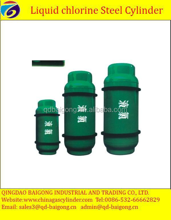 Industrial Gas Use and Steel Material Liquid Chlorine Gas Cylinder