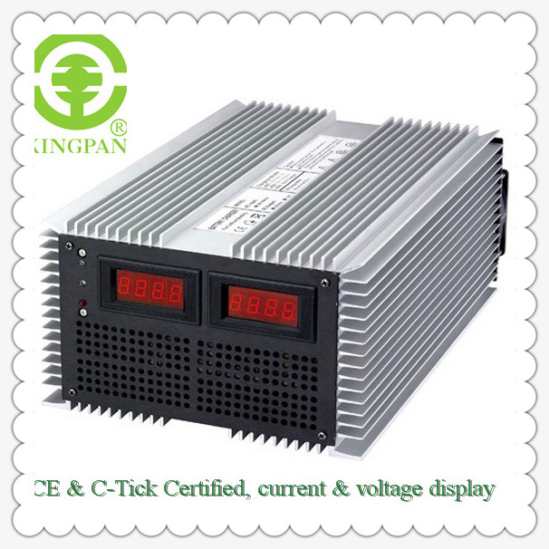 15V/120A,30V/100A,45V/75A,60V/60A, KP-4000G high power battery charger for Car/Bus/Folklift ,