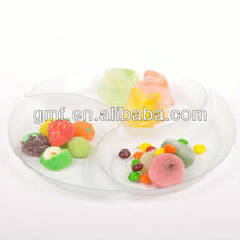 2012 ~ 2013 popular 2/ 3/ 4/ 6 compartments plastic plates