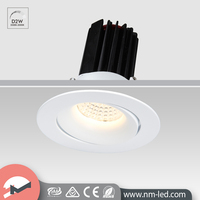 Adjustable White 13W MR16 Reflector Retrofit LED Downlight Dimmable