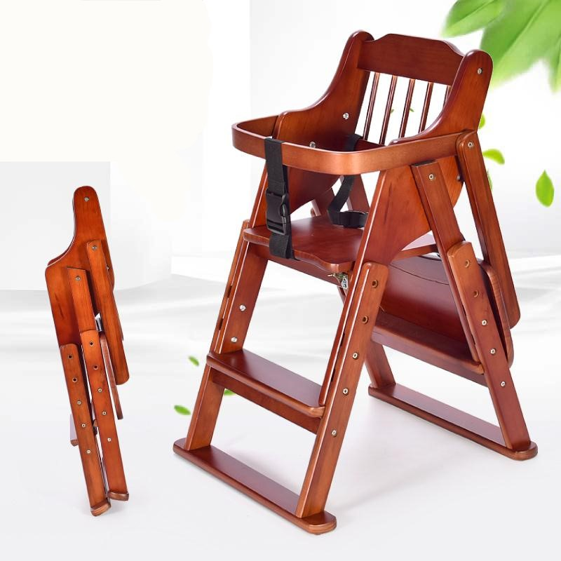Folding Solid Wood Baby High Chair Height Adjustable Folding Feeding Chair  Eating Table   Buy Baby High Chair,Feeding Chair,Eating Table Product On  Alibaba. ...