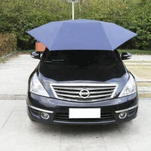 UV Protection Sunclose Waterproof Car Umbrella Remote Roof Cover